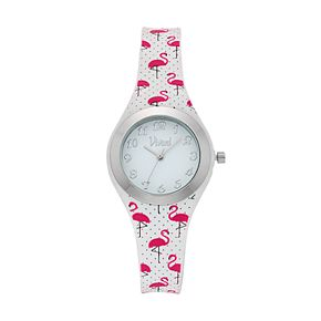 Vivani Women's Pink Flamingo Watch