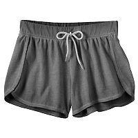 Girls 7-16 & Plus Size SO® Wash Effect Shortie Shorts