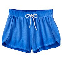Girls 7-16 & Plus Size SO® Wash Effect Shortie Shorts