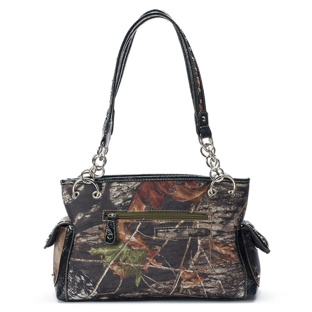 Mossy Oak Savannah Camouflage Tote with Wallet