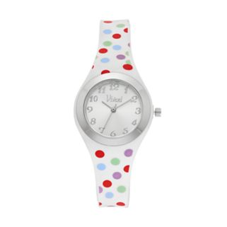 Vivani Women's Polka Dot Watch