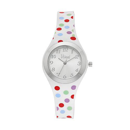 Vivani Women's Polka Dot Watch