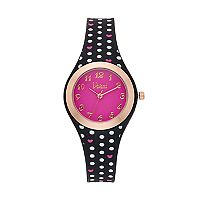 Vivani Women's Polka Dots & Hearts Watch