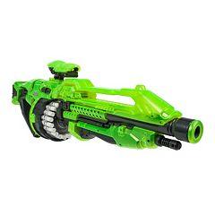World Tech Toys Glow-in-the-Dark Warrior Prime Motorized Dart Blaster