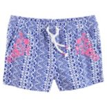 Girls 4-8 Carter's Tribal Embroidered Shorts