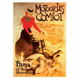 """""""Motorcycles Comiot"""" Vintage Poster 1000-pc. Jigsaw Puzzle by D-Toys"""