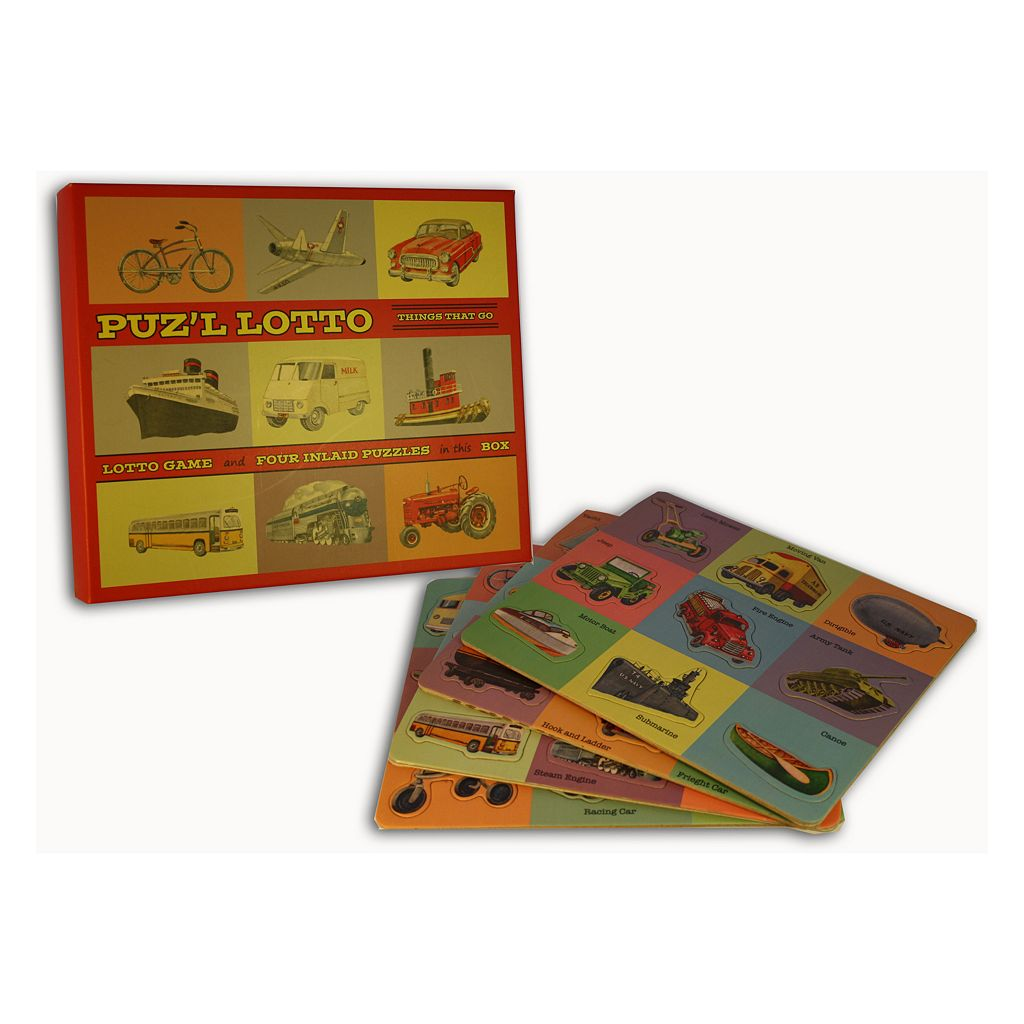 Puz'l Lotto Things That Go by Perisphere & Trylon
