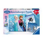 Disney's Frozen Winter Adventures Puzzles by Ravensburger