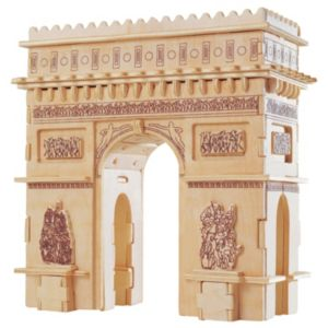 Arch De Triomphe Wooden Puzzle by Puzzled