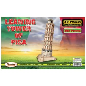 Leaning Tower of Pisa Wooden Puzzle by Puzzled