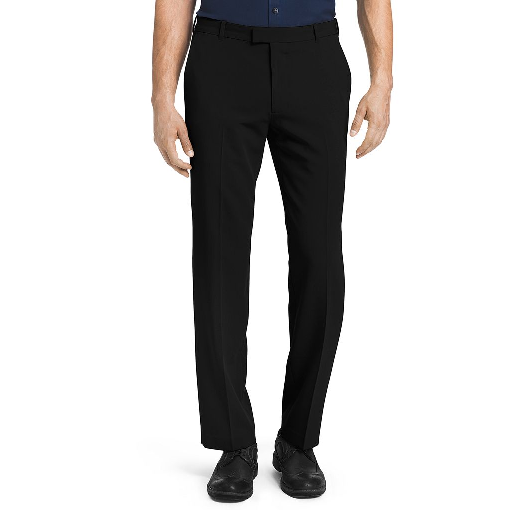 Big & Tall Van Heusen Flex Straight-Fit No-Iron Dress Pants