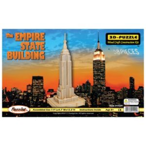 The Empire State Building Wood Puzzle by Puzzled