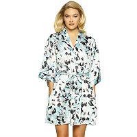 Women's Jezebel Satin Kimono Robe