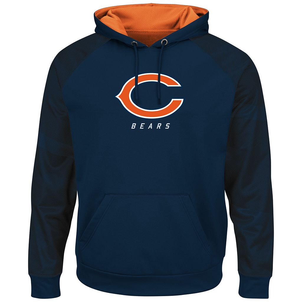 Big & Tall Majestic Chicago Bears Armor Hoodie