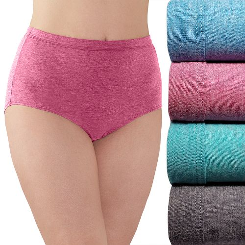 90f2d74cd99e Plus Size Fruit of the Loom Fit for Me 4-pack Ultra Soft Briefs 4DUSKBP
