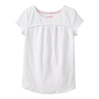 Girls 4-10 Jumping Beans® Solid Pom-Pom Tee