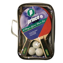 Prince 4-Player Game Room Table Tennis Paddle Set