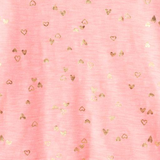 Girls 4-10 Jumping Beans® Pattern Flutter Sleeves Tee
