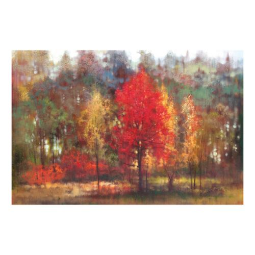 Tapestry Of Color Canvas Wall Art