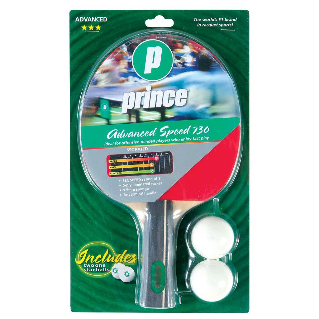 Prince Advanced Speed Table Tennis Racket Paddle & Ball Set