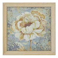 New View Flower Print on Mirror Framed Wall Art