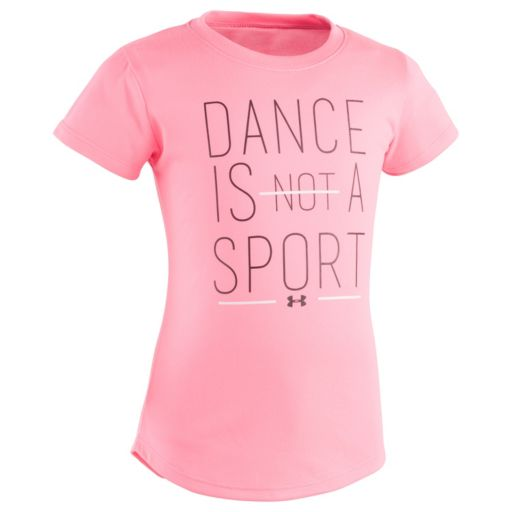 "Girls 4-6x Under Armour ""Dance is a Sport"" Graphic Tee"