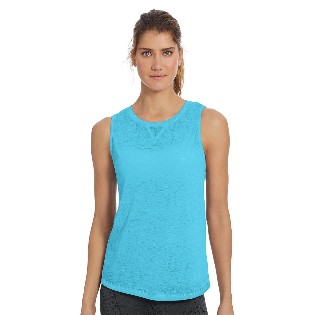 Women's Champion Authentic Wash Muscle Tank Top