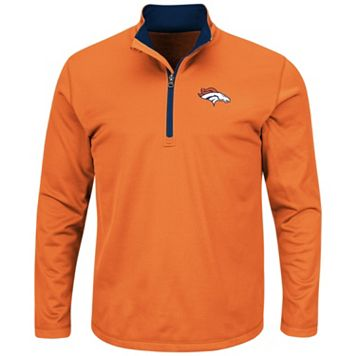 Big & Tall Majestic Denver Broncos Logo Pullover