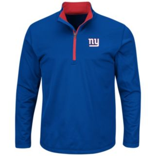 Big & Tall Majestic New York Giants Logo Pullover