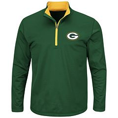 Big & Tall Majestic Green Bay Packers Logo Pullover