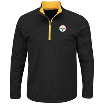 Big & Tall Majestic Pittsburgh Steelers Logo Pullover