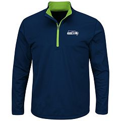 Big & Tall Majestic Seattle Seahawks Logo Pullover
