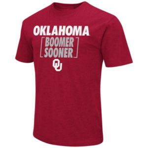Men's Campus Heritage Oklahoma Sooners War Cry Brackets Tee