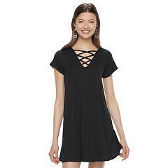 Juniors Black Dresses- Clothing - Kohl&-39-s