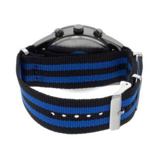 Folio Men's Striped Watch