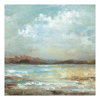 Ocean Breeze II Square Canvas Wall Art