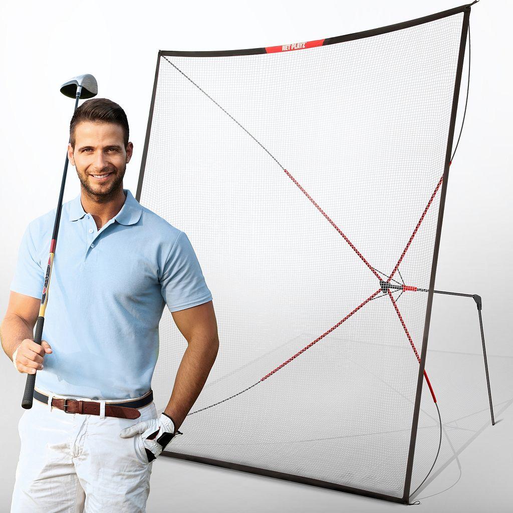 Net Playz 10-Ft. Golf Practice Auto Return Net