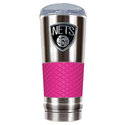 Brooklyn Nets 24-Ounce Draft Stainless Steel Tumbler