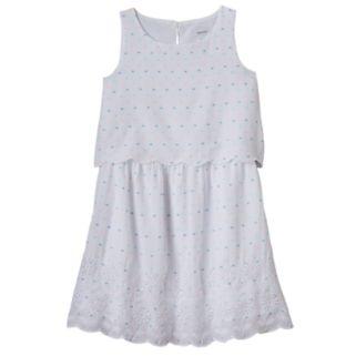 Girls 4-12 SONOMA Goods for Life™ Scalloped Overlay Dress
