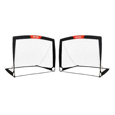 Net Playz Soccer Goal Easy Fold-Up Training Goal Set