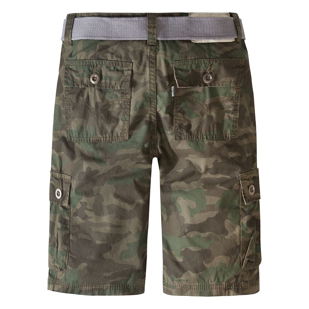 Boys 4-7x Levi's Belted Cargo Shorts