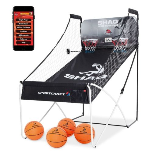 Shaq Basketball Double Hoop Shot Traditional Arcade & Bluetooth Online App Game