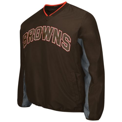 Men's Cleveland Browns Ripstop Pullover Jacket