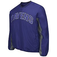 Men's Baltimore Ravens Ripstop Pullover Jacket