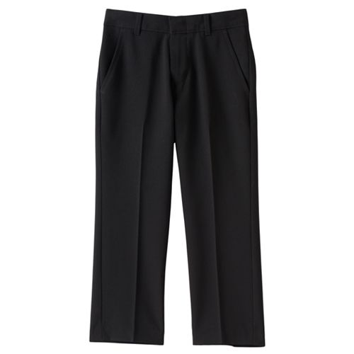 Boys 4-7x Chaps Solid Stretch Dress Pants