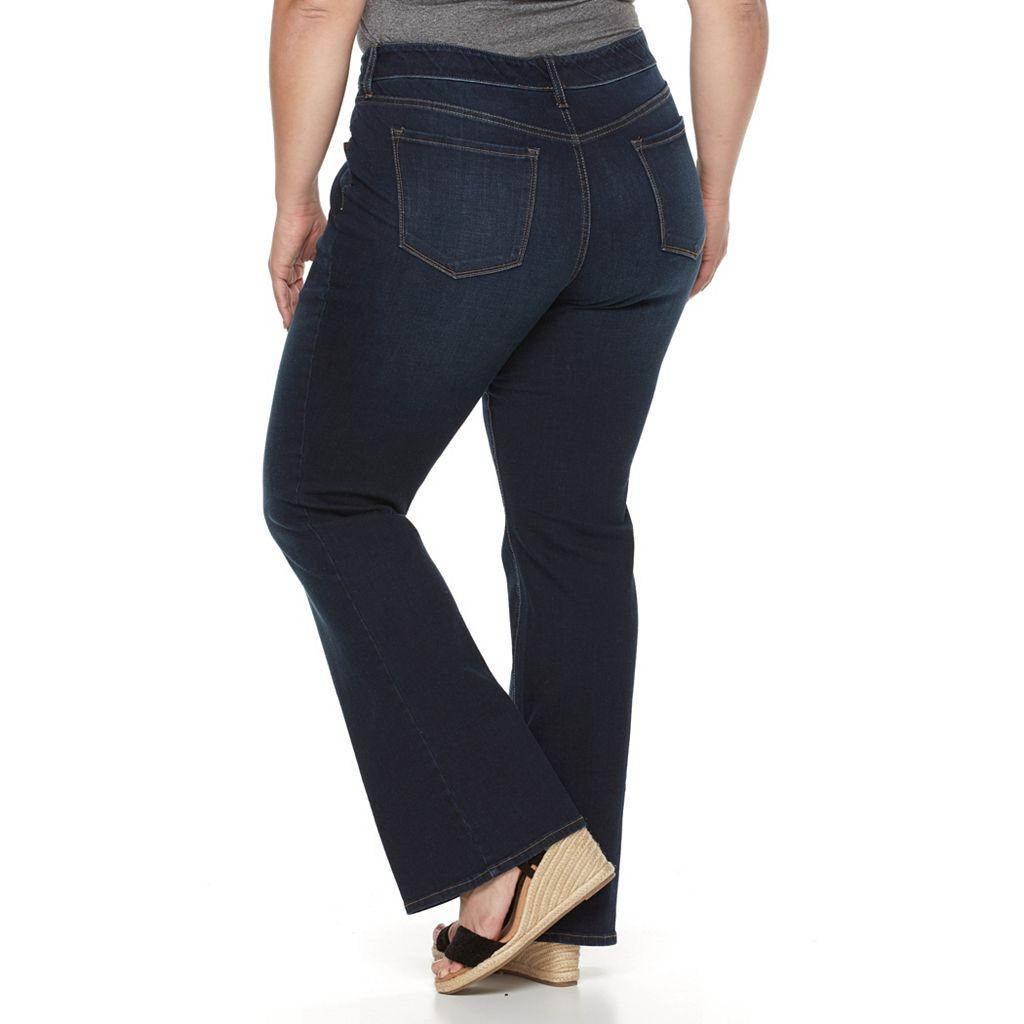 Plus Size Apt. 9® Skinny Crop Jeans