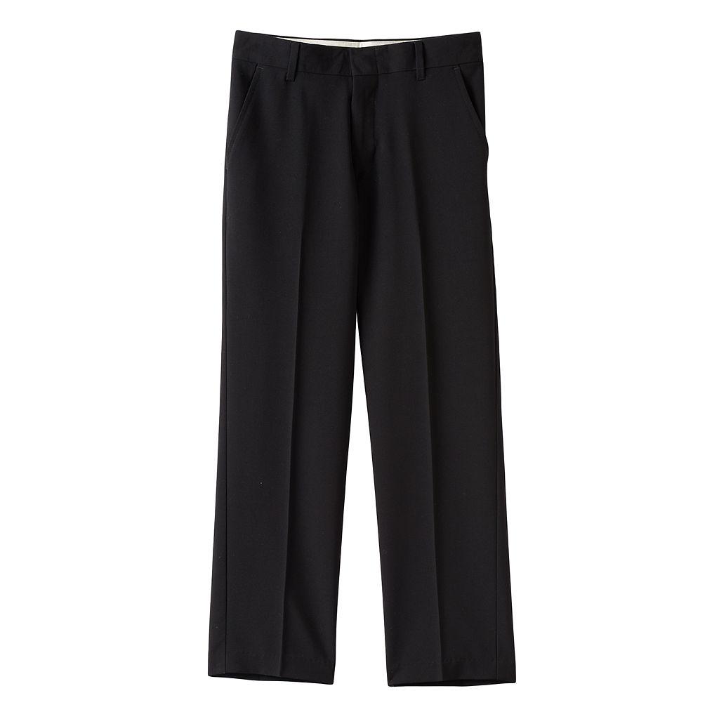 Boys 8-20 Husky Chaps Solid Stretch Dress Pants