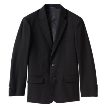 Boys 8-20 Chaps Solid Stretch Suit Jacket