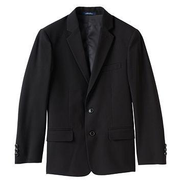 Boys 8-20 Chaps Solid Stretch Suit Jacket