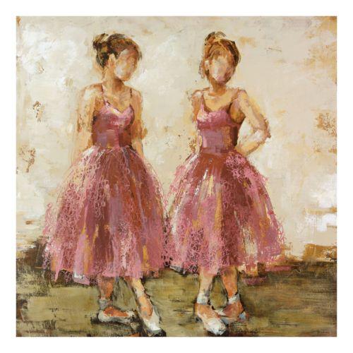 Dance Class Canvas Wall Art